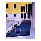"""Wine in Venice""  by Melissa Goza"