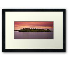 Coocumbac Island 01 Framed Print