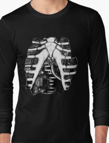 The Inner Workings of a Clockwork Man Long Sleeve T-Shirt