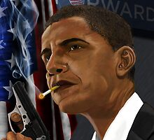 Barack Obama: Commander in Chief of Coolness & Badassery by jahill20