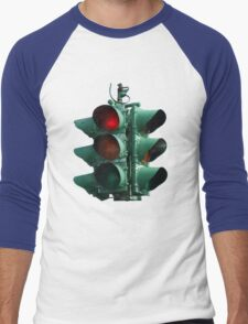 Traffic Light Men's Baseball ¾ T-Shirt