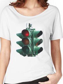 Traffic Light Women's Relaxed Fit T-Shirt