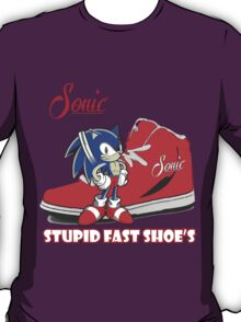 Vintage Sonic Shoes Tee T-Shirt
