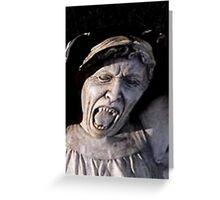 weeping angel 3 Greeting Card