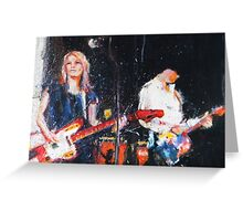 Sonic Youth Greeting Card