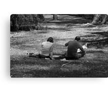 at last, the weekend Canvas Print