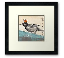 Green Is The King Framed Print