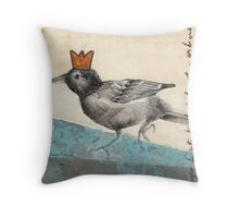 Green Is The King Throw Pillow