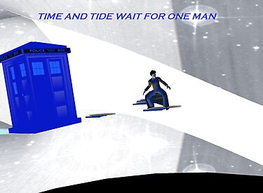 Time and tide wait for one man Guess who by LokiLaufeysen