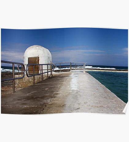 Merewether Baths Pump House Poster