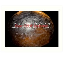 The end of the world 21.12.2012. Art Print