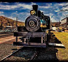 Old Steam Engine #3 by vanceadkins