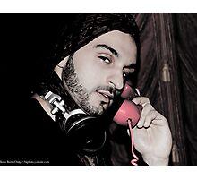 Retro phone Photographic Print