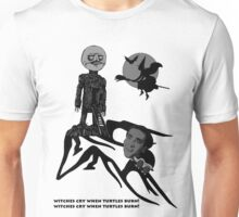 Witches Cry When Turtles Burn! -- Nicholas Cage / The Wicker Man Unisex T-Shirt