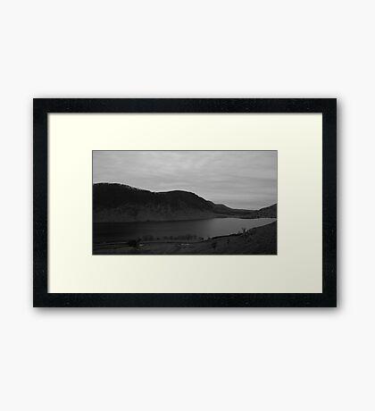 Crummock Water, Lake District National Park. Framed Print