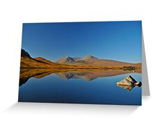 The Black Mount, Rannoch Moor, Scotland. Greeting Card