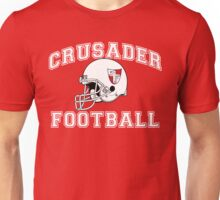 Crusader Football - White Unisex T-Shirt