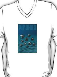 Shoal of Daft Piranha with old Duffer Fish T-Shirt