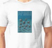 Shoal of Daft Piranha with old Duffer Fish Unisex T-Shirt