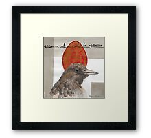 Red Red Egg Framed Print