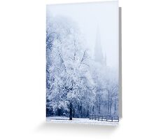 Inspired Trees Greeting Card