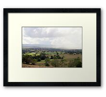 Natures Patchwork Framed Print