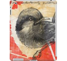Asian Red Feathers iPad Case/Skin