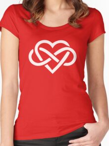 Love is Infinite Women's Fitted Scoop T-Shirt