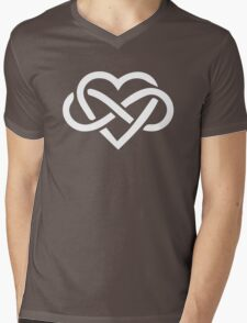 Love is Infinite Mens V-Neck T-Shirt
