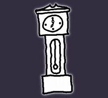 Cartoon Grandfather Clock [Big] Unisex T-Shirt