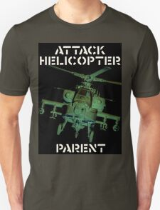 Attack Helicopter Parent T-Shirt