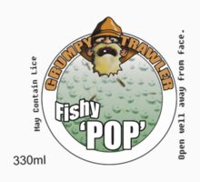 Refreshing Can of Fishy Pop Logo T-Shirt