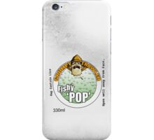 Refreshing Can of Fishy Pop Logo iPhone Case/Skin