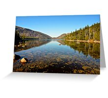 Jordan Pond, Acadia National Park, ME Greeting Card