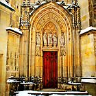 St. Lamberti's Door by silentstead