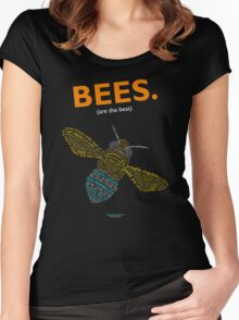 The Blue Banded Bee - Inverse Women's Fitted Scoop T-Shirt