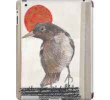 Red Sun Ball iPad Case/Skin