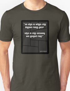 GTA 4 Niko Bellic Quote T Shirt T-Shirt