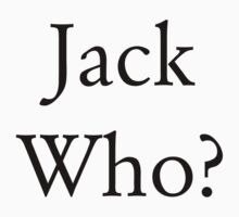 Jack Who? by McElla Gregor