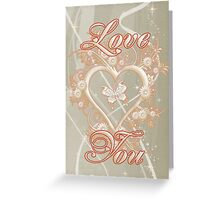 Love You .. card Greeting Card
