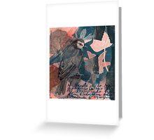 Baroque Dance Flight Greeting Card