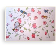 ROSEBUDS 11  Canvas Print