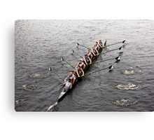 The Head Of The Charles Regatta Canvas Print