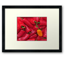 Hot! Hot! Hot! Framed Print