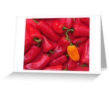Hot! Hot! Hot! Greeting Card
