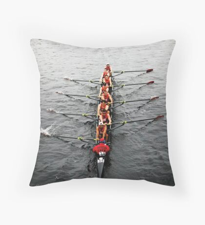 The Head Of The Charles Regatta 3 Throw Pillow