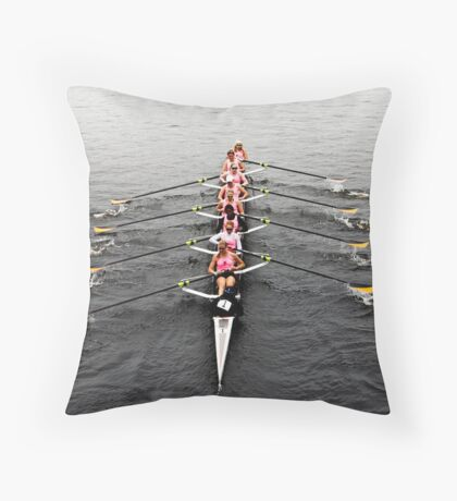 The Head Of The Charles Regatta 2 Throw Pillow