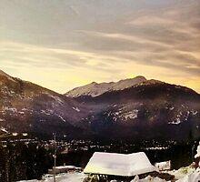 Night Sky of Snow Mountain by setoeric