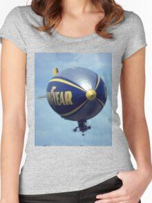 Bond Airship,Bankstown Airport,Australia 1999 Women's Fitted Scoop T-Shirt