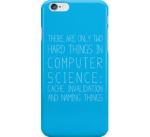 Computer Science - Blue iPhone Case/Skin
